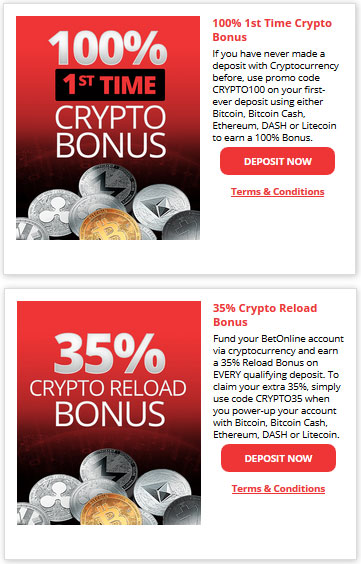 BetOnline.ag Latest Promotions